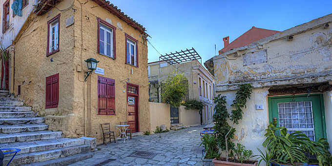 Best and free points in Athens