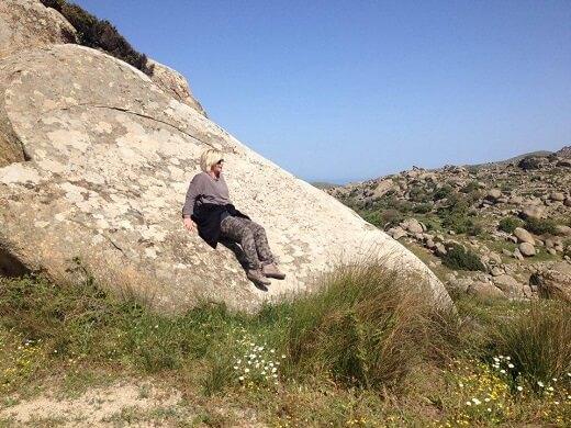 Αναρρίχηση ή bouldering στην Τήνο