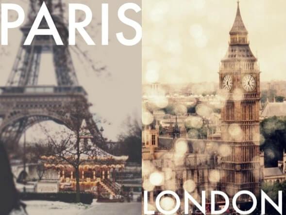 Φθηνά από Παρίσι-Λονδίνο